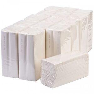 Sirius C-Fold Multi Fold Luxury White 2 Ply Paper Hand Towels 2400 Sheets 1 Box