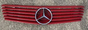 Mercedes Benz R129 SL320, 500, 600 SL60 AMG Style 6 Rib Grill Assembly, Rare !