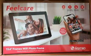 "Feelcare Frameo 15.6"" Smart Wifi Photo Frame FHD Touch IPS Display 