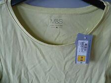 M&S Cotton T Shirt Size 16
