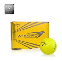 Callaway hexagonal Warbird Pelotas de golf 1 Docena AMBOS en blanco o - NUEVO