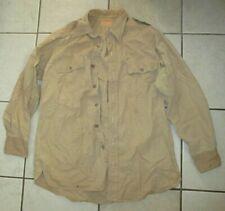 Original Us Army Officers Khaki Poplin Shirt 15 X 31