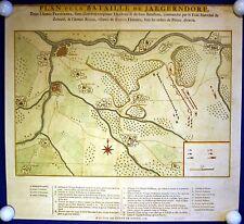 Schlacht b.Jaegerndorf/ Wehlau/ Allerburg Ostpreussen Original-Kupferstich 1758