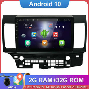 For Mitsubishi Lancer 2006-2016 10.1'' Android 10 Car GPS Stereo Radio HeadUnit