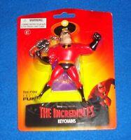 Disney Pixar 2004 Original The Incredibles MR. INCREDIBLE KEYCHAIN MOC
