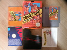 Nintendo NES Game - DONKEY KONG CLASSICS - Complete FREE International Shipping
