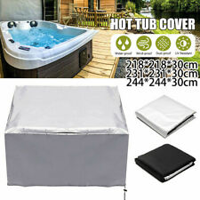 Tub Spa Cover Cap Guard Waterproof Dust Protector Harsh Weather 5 Sizes