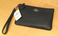 New With Tags Leather Coach wristlet bag/ purse wallet new with zip Fastening