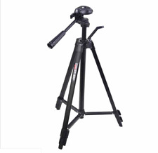 "360° 53"" Professional Black Aluminum Alloy Tripod for DSLR Camera & Camcorder"