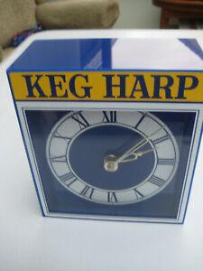 VINTAGE KEG HARP CLOCK