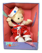 Vintage My Child Doll Mattel 1985 Blonde Sailor #2175 Green Eyes Red Outfit NEW