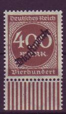 Dt. Reich Dienst D 80 mit Unterrand 400 M postfrisch