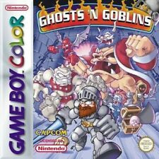 Nintendo GameBoy Color Spiel - Ghosts 'n Goblins Modul mit Anl.