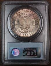 1891 Morgan Silver Dollar, PCGS MS-62 Toned
