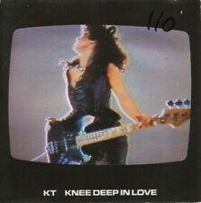 "KT knee deep in love 7"" PS EX/VG uk spritz SPRIT1 wos"
