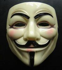 Maschera V per Vendetta REALE for Anonymous Rigida per Carnevale Halloween! 0203