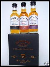 BOWMORE Distillers Collection 12Y + 15Y + 18Y Whisky 3 x 50ml Mini