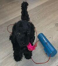 Vintage B 00006000 attery Remote Control Black Dog Walking Barking Toy