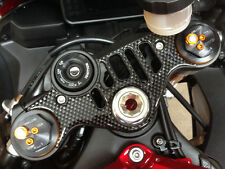 Carbon Fibre Effect Yoke Cover to fit Yamaha YZF R1 2015 - onwards