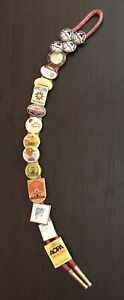 AOPA Aircraft Owners and Pilots Association VTG Bolo Tie Clasps & Pins '70s '80s