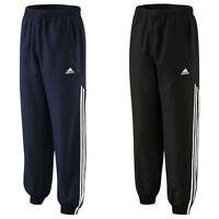 Mens Adidas 3 Stripe Cuffed Stinger Pants Tracksuit Bottoms Trousers S M L XL