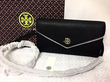 NWT Tory Burch Robinson Expandable Concierge Clutch Crossbody Bag Black MSRP$350