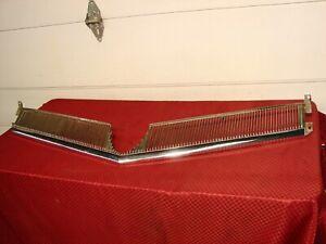1965 BUICK WILDCAT CHROME UPPER GRILLE GM pt# 1367947