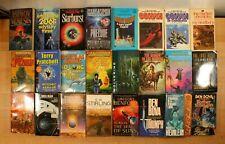 SCIENCE FICTION Books! Terry Pratchett, Isaac Asimov! All PB Books, Lot of 24!