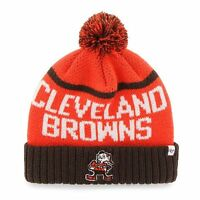 Cleveland Browns Elf 47 Brand Linesman Knit Hat with Pom