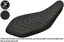 DSG5 GRIP YELLOW ST VINYL CUSTOM FOR YAMAHA RAPTOR 700 R 06-18 SEAT COVER