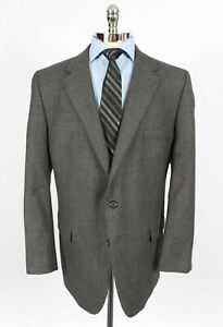 Henry Grethel Mens 44PR Portly Regular Houndstooth Blazer Sport Coat Jacket 549