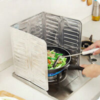 Home Kitchen Stove Foil Plate Prevent Oil Splash Cooking Hot Baffle Kitchen Tool