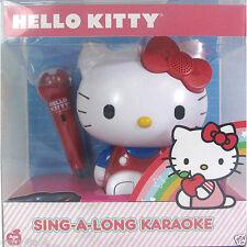 Hello Kitty Sing A Long Karaoke Machine Tunes Radio Microphone Kids Children Toy