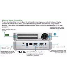 Vivitek Qumi Q6 800 Lumen  720p HD LED Wireless Pocket Projector - Black