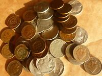 Indian Head Penny  Buffalo Nickel  Liberty V Nickel Collection 36 Coins.