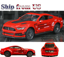 Shelby GT500 1/32 Scale Collectible Diecast Model Car Toys Action Figure Red US
