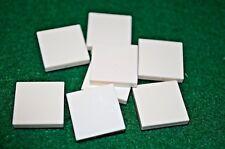 (8) WHITE 2X2 Smooth Finishing Tile Brick Bricks  ~ Lego  ~ NEW