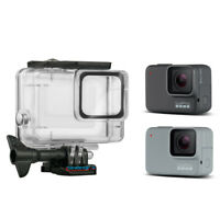 High Transparent Acrylic Waterproof Housing Case Cover For GoPro Hero 7 Diving