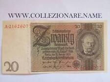BANKNOTE BANCONOTA 20 REICHSMARK 1929 (G1-16) (E)
