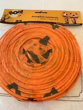 Halloween Paper Lantern LED Pumpkin Light Haunted Devil House Decoration bid