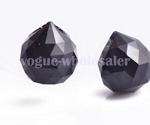 20/30/40mm Crystal Glass Ball Prism Chandelier Wedding Decor Teardrop Pendant