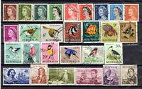 1966 to 1973 DECIMAL INTRODUCTION - SET of 28 stamps - USED