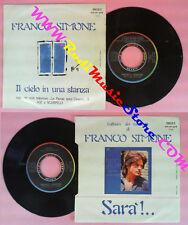 LP 45 7'' FRANCO SIMONE Il cielo in una stanza Sara'1977 italy RIFI no*cd mc dvd