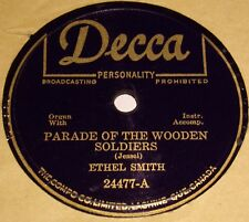 Decca 24477 Ethel Smith Parade of The Wooden Soldiers/ The Waters of Minnetonka