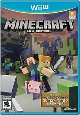 NEW Minecraft: Wii U Edition (Nintendo Wii U, 2016)