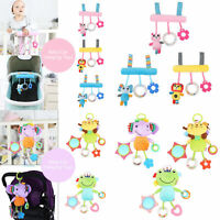 Infant Rattle Toys Stroller Car Seat Crib Travel 6 Sorts Hanging Toy for Baby