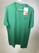 ICEBREAKER Men's Superfine Merino Wool Tech Lite SS Crew T-Shirt LARGE - NEW