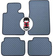 Gummi Fußmatten Set Auto Matte grau für BMW 1er F20 5 türig ab Bj. 09/11