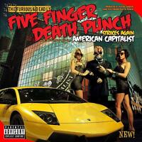 FIVE FINGER DEATH PUNCH - AMERICAN CAPITALIST (DELUXE)   CD NEW+