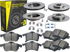 4 Bremsscheiben + Beläge Vorne & Hinten Opel Astra G Stufenheck Zafira A B